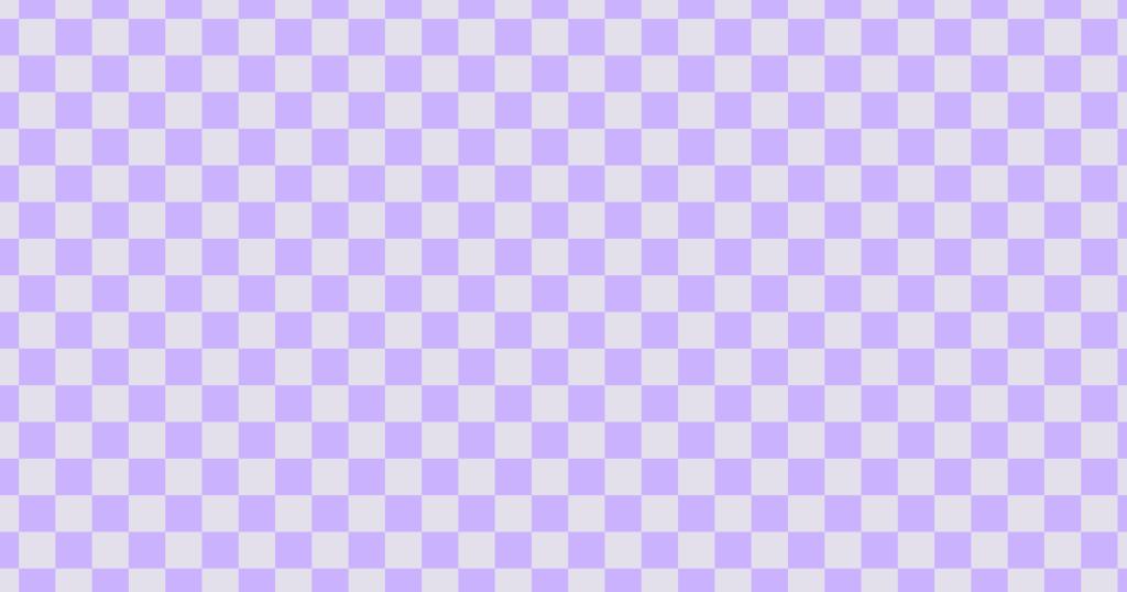 柔らかい色のチェッカー柄背景素材(パープル)