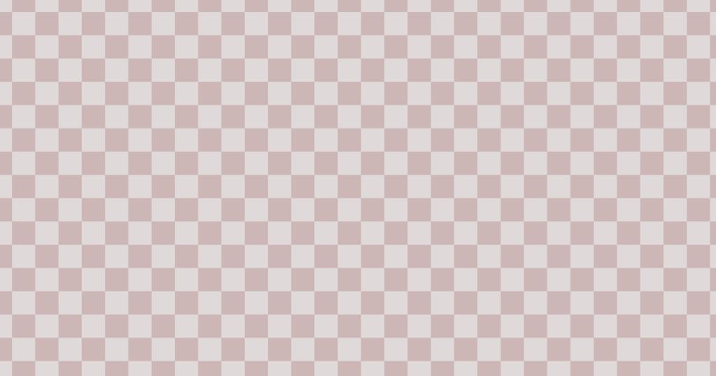 柔らかい色のチェッカー柄背景素材(ブラウン)