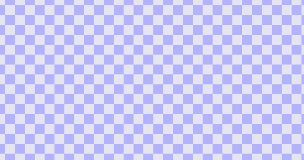 柔らかい色のチェッカー柄背景素材(ブルー)