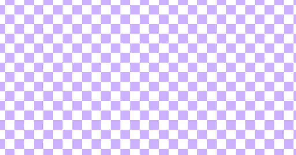 柔らかい色のチェッカー柄背景素材(白地×パープル)