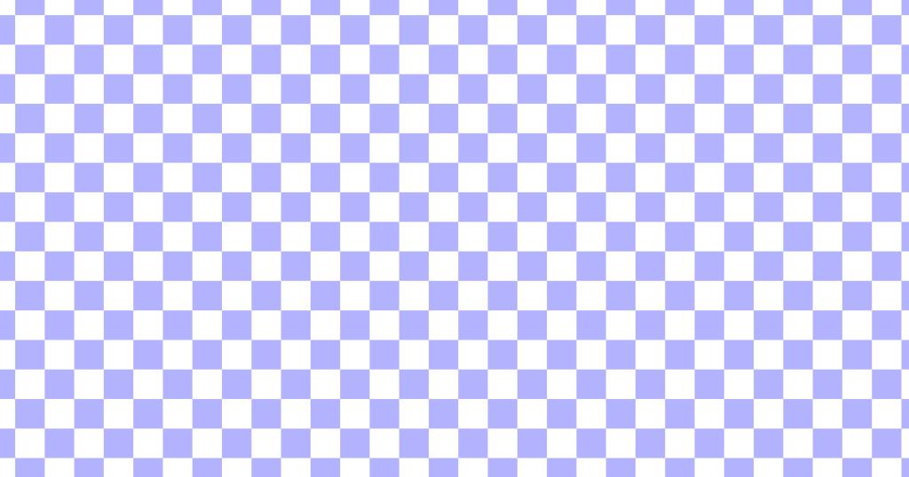 柔らかい色のチェッカー柄背景素材(白地×ブルー)