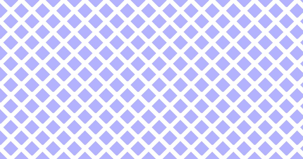 柔らかい色のひし形網目模様背景素材(白地×ブルー)