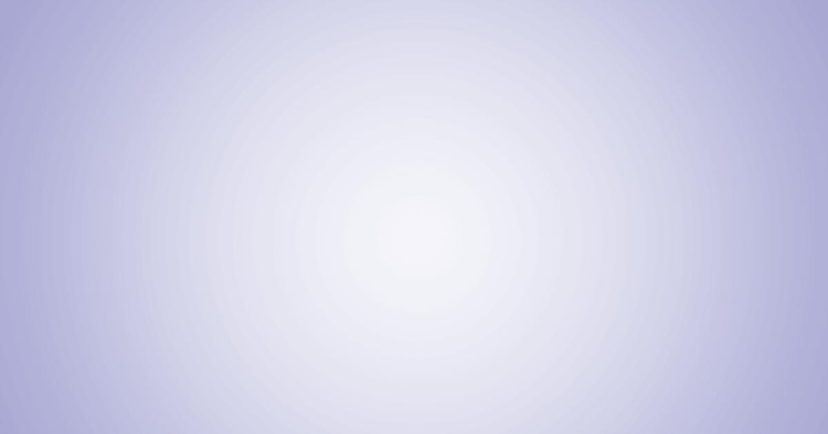 柔らかめの円グラデーション背景(パープル)