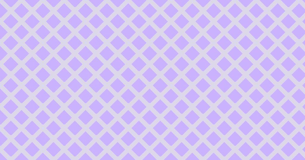 柔らかい色のひし形網目模様背景素材(パープル)