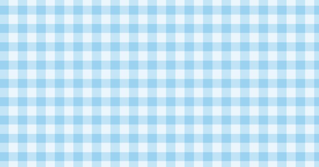 柔らかい色のチェック柄背景素材(ブルー)