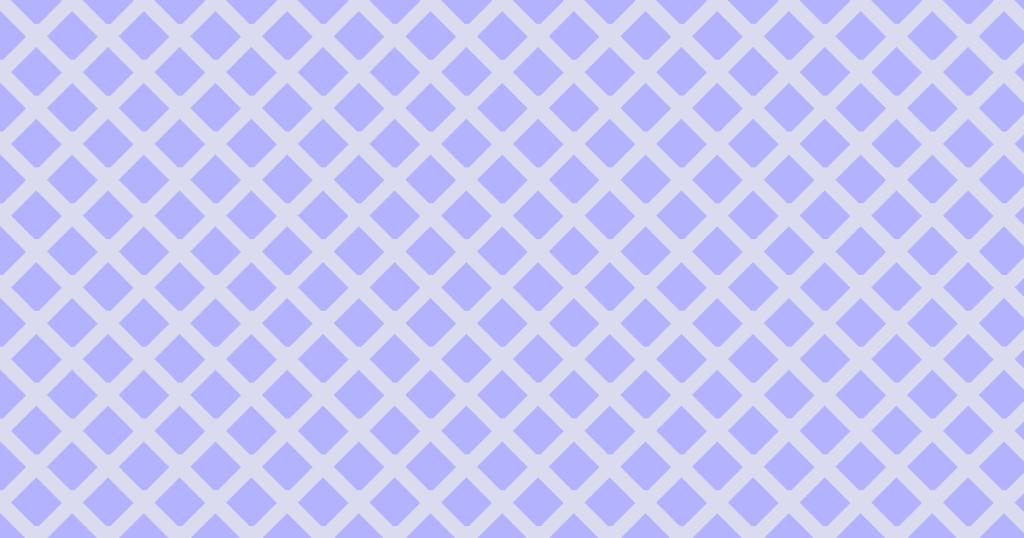 柔らかい色のひし形網目模様 背景素材(ブルー)