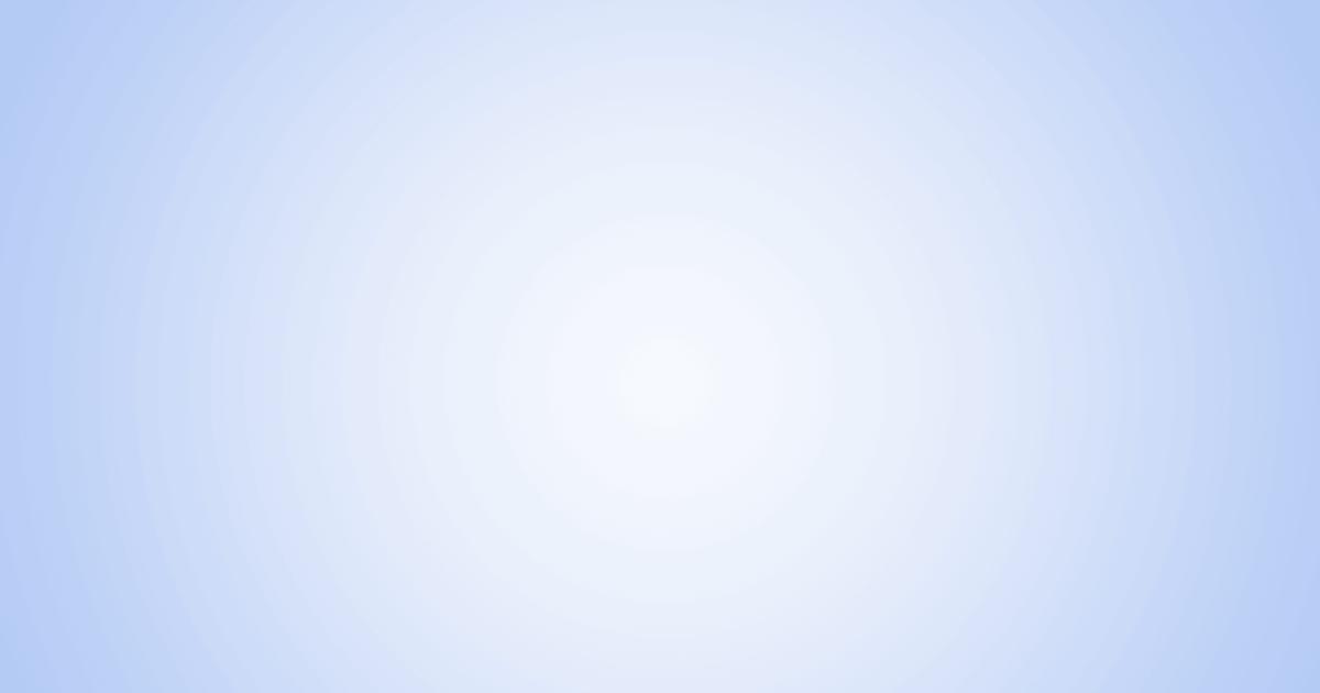 柔らかめの円グラデーション背景素材(ブルー)