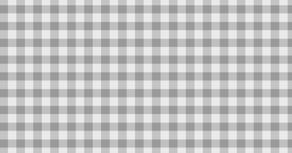 柔らかい色のチェック柄背景素材(グレイ)
