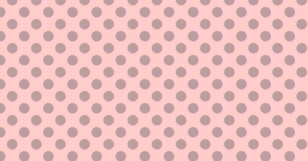 柔らかい色の水玉模様背景素材(ブラウン)
