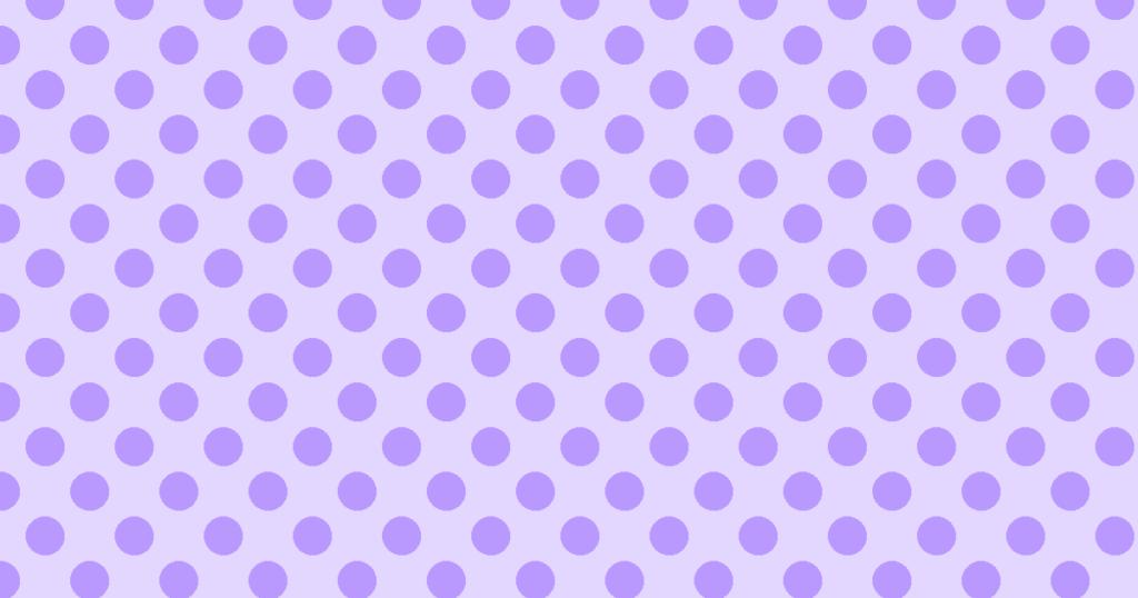 柔らかい色の水玉模様背景素材(パープル)