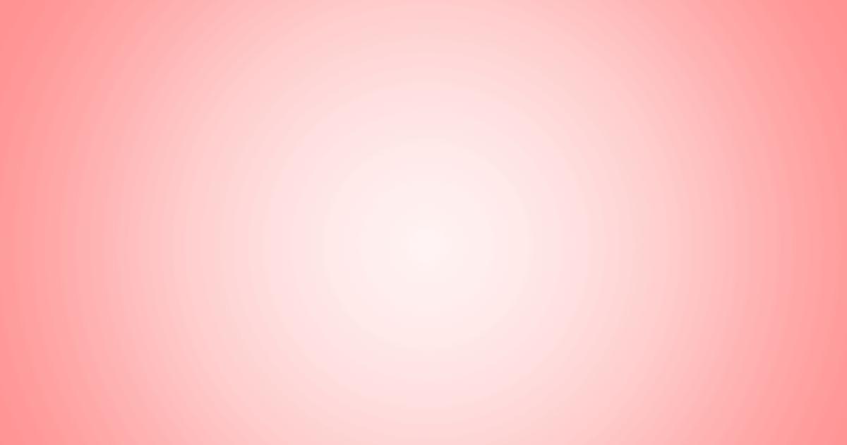柔らかめの円グラデーション背景素材(レッド)