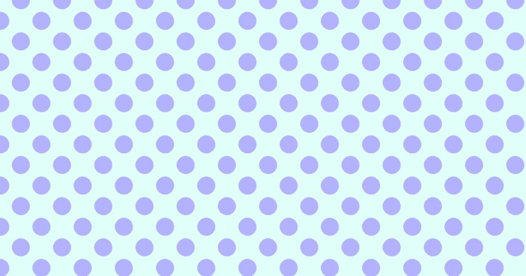 柔らかい色の水玉模様背景素材(ブルー)