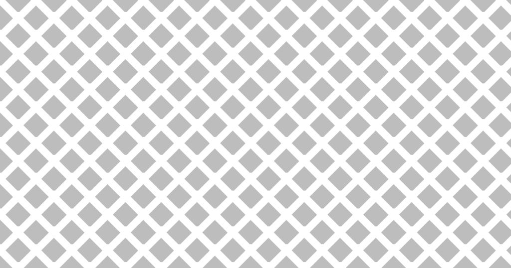 柔らかい色のひし形網目模様背景素材(白地×グレイ)