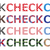 CSSのみでテキストをチェック柄に装飾するサンプル集