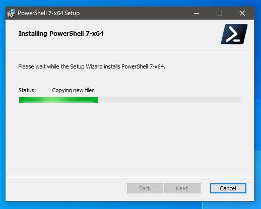 PowerShellのインストール5