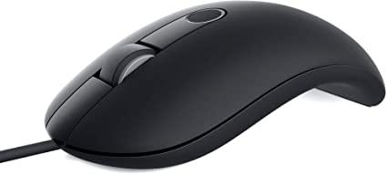 Dell 指紋認証リーダー付き有線マウス MS819