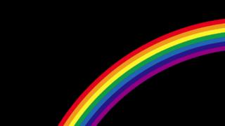 CSSデザイン-虹