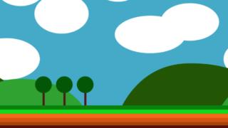 無限スクロールする背景のCSSアニメーション
