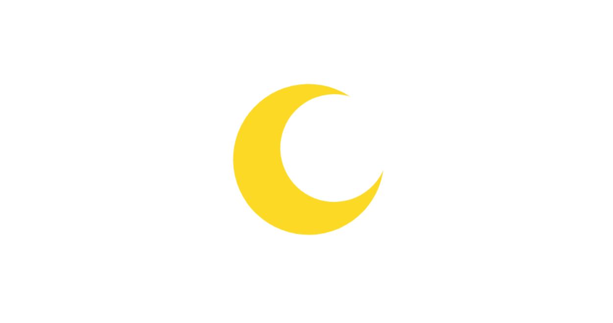 CSSで三日月を作成する方法