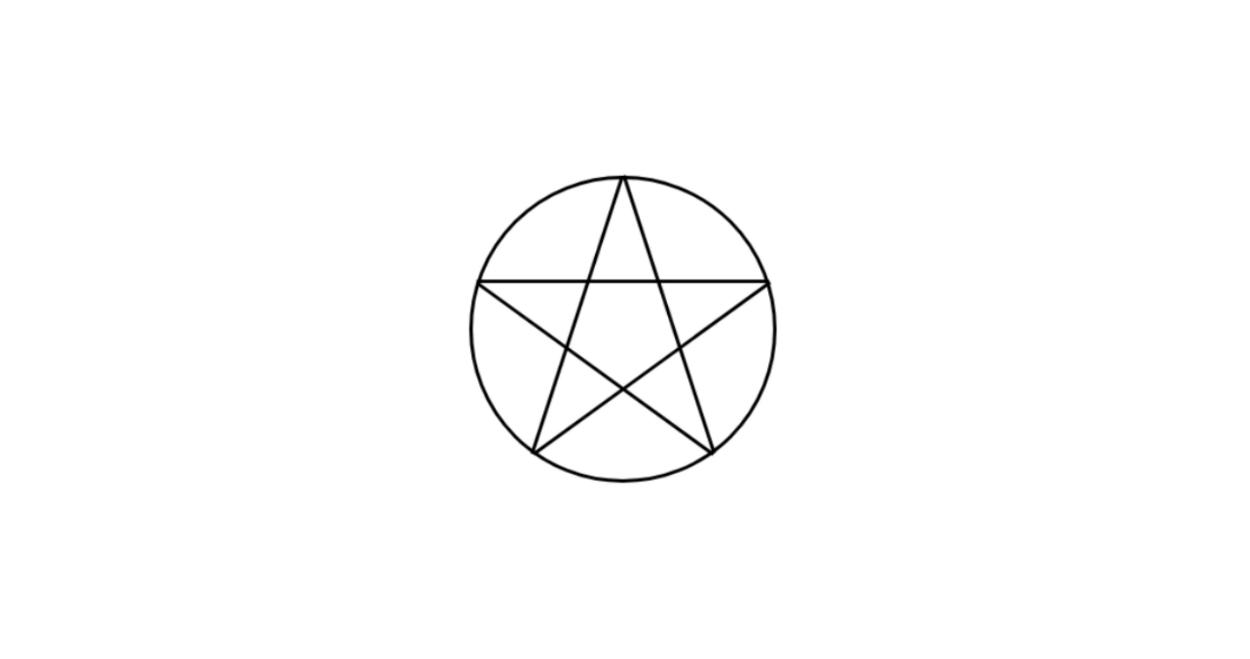 CSSで五芒星を作成する方法