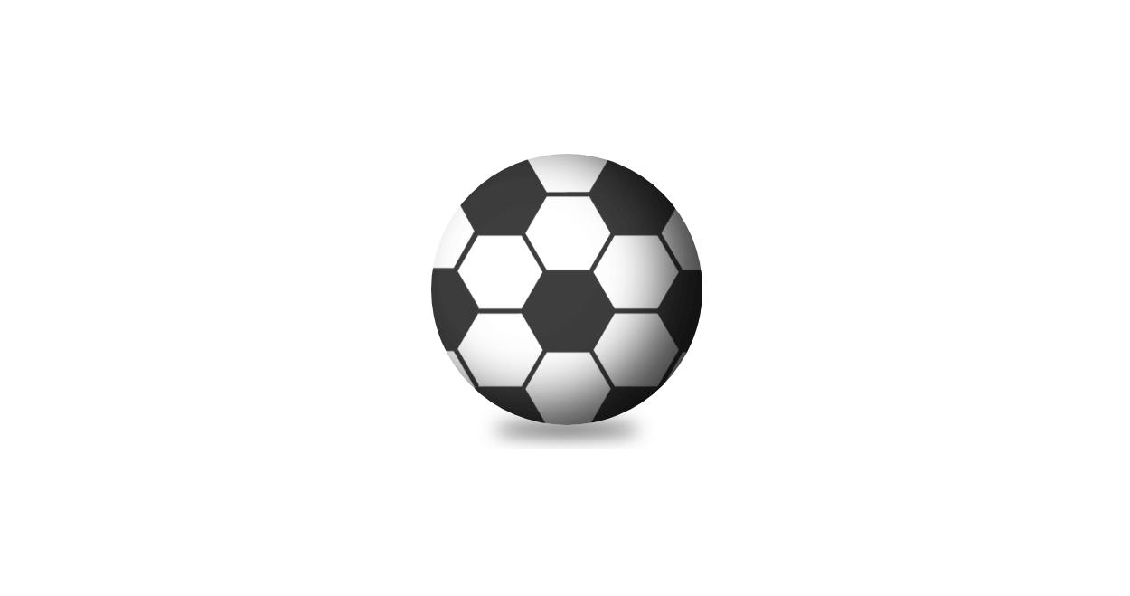 CSSで立体的なサッカーボールを作成する方法
